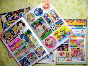 Sailor Moon Movie Pamphlets stickers.JPG